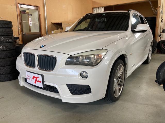 BMW X1 sDrive 18i Mスポーツパッケージ カロッツェリアHDDナビ キーレス 純正18インチAW キセノンヘッドライト シートヒーター オートエアコン 電動格納ミラー