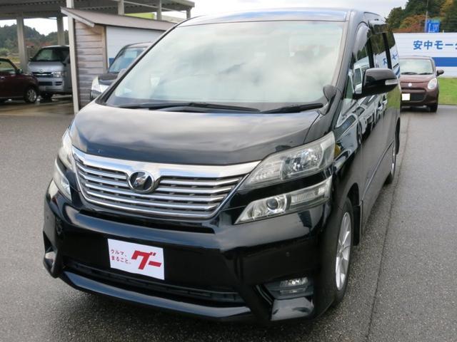 トヨタ 2.4Z プラチナセレクションII パナソニックSDナビ・CN-R300WD 純正フリップダウンモニター・V9T-R59C/リモコン付 バックカメラ ETC 両側電動リアドア 電動リアゲート 純正17インチアルミホイール