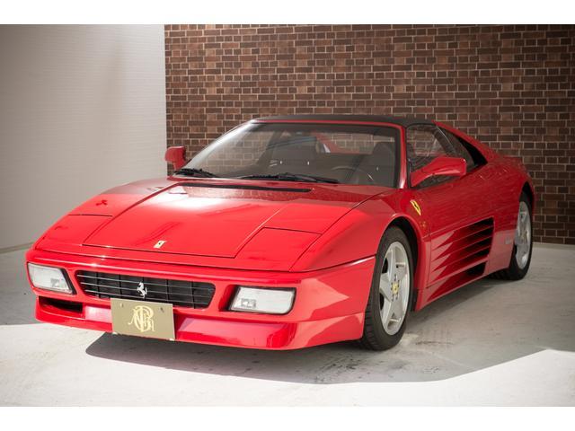 フェラーリ ts ブラック革シート 348純正ホイール