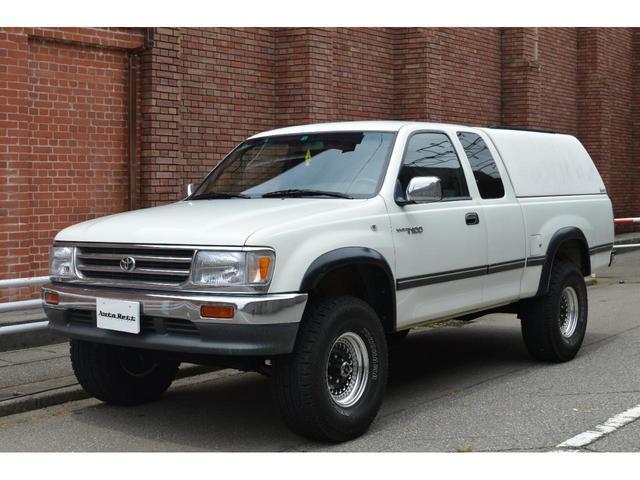 米国トヨタ エクストラキャブ 4WD 1ナンバー ベンチシート コラムAT 新車並行 シェル キャノピー