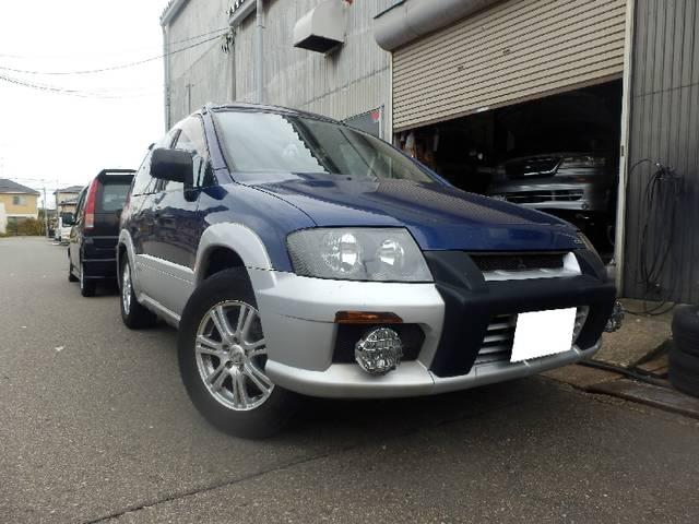 三菱 スポーツギアX2 4WD サンルーフ オートクローザー