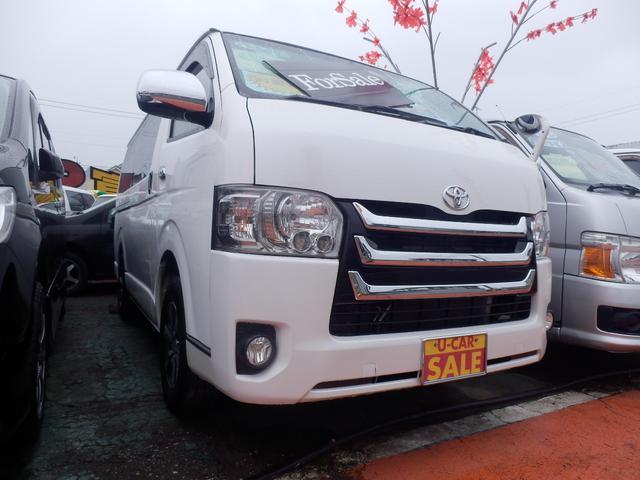 トヨタ SP-GL ダークプライム4WD プッシュS LED 外AW