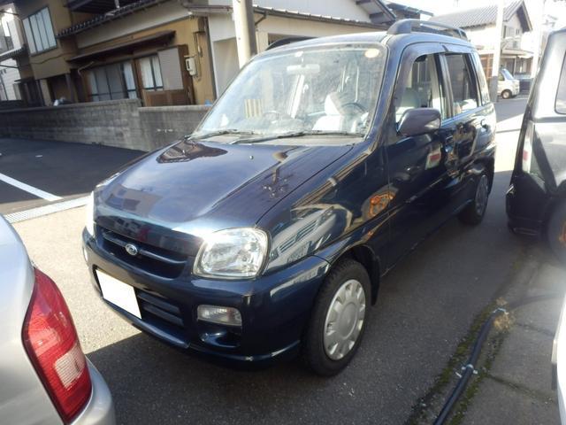 スバル Le 4WD CVT CD