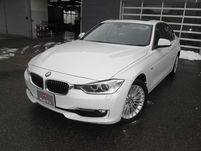 BMW 320iラグジュアリー ワンオナ 純正ナビ ディーラー記録簿