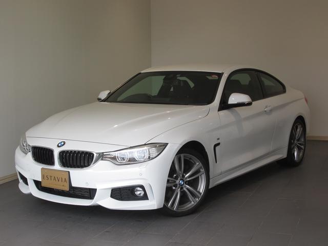 BMW 428iクーペ Mスポーツ 1オーナ ナビTV LEDライト