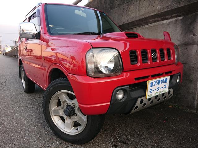 スズキ XC オートマ 4WD アンタレスレッド