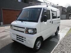 ミニキャブバンCDハイルーフ  切替式4WD ナビ TV タイヤ新品