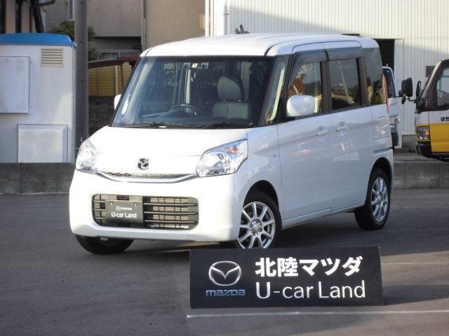 マツダ XG 4WD 自社下取車 SDナビ&1セグ スライドドア