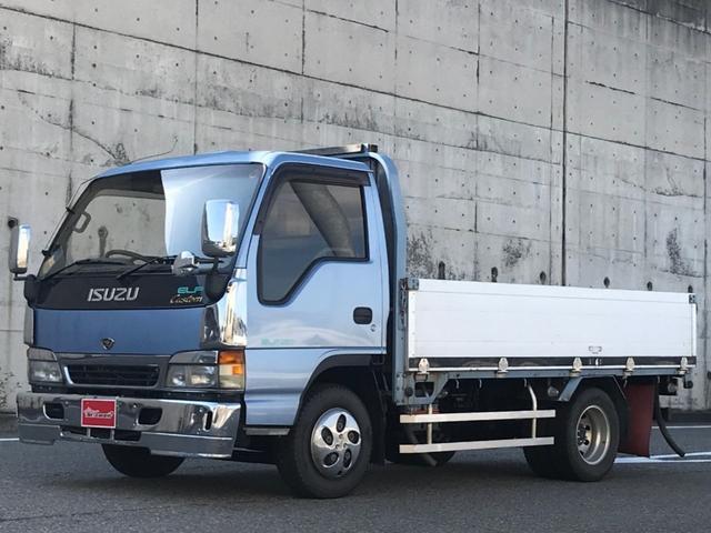 いすゞ カスタム 平ボディ 荷台長さ約3.5m 幅約2.0m