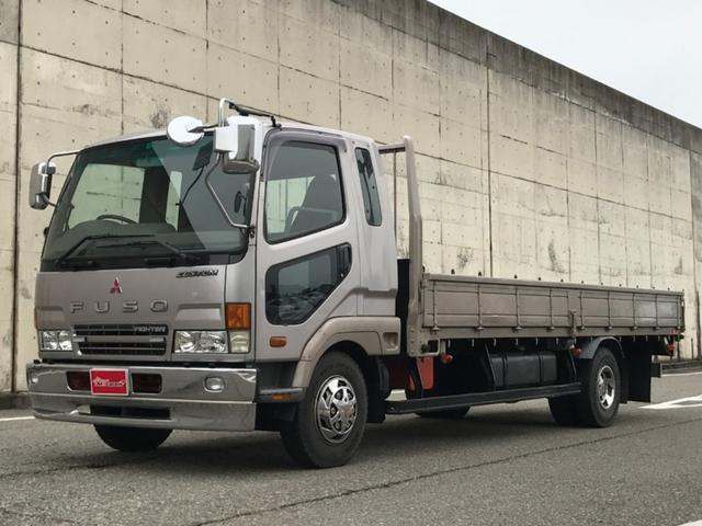 三菱ふそう カスタム 平ボディ 最大積載4,000kg 木目調パネル