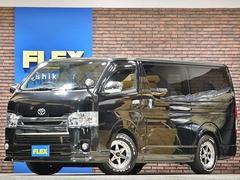 ハイエースバンスーパーGL ディーゼル4WD ローダウン 新品タイヤAW