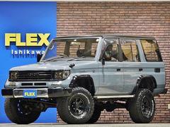 ランドクルーザープラドSXワイド 4WD 実走行 ニューペイント リフトアップ
