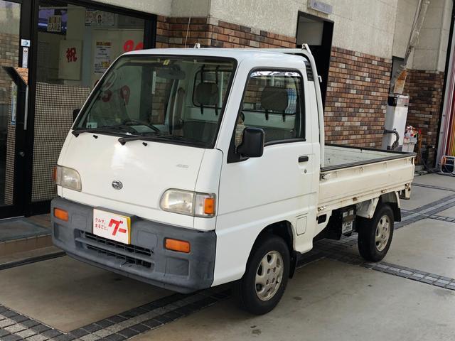 スバル JA 4WD 3開方 CDデッキ
