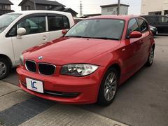 BMW116i 本革 HDDナビフルセグTV