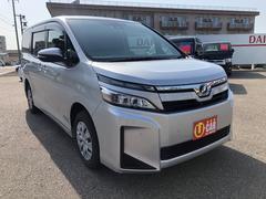 ヴォクシーX 4WD トヨタセーフティーセンス 7人乗り パワースライドドア LEDヘッドライト 純正SDナビTV バックモニター クルーズコントロール
