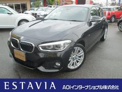 BMW118i Mスポーツ 純正HDDナビ LEDヘッドライト
