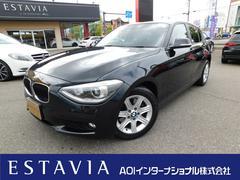 BMW116i 純正HDDナビ HIDオートライト ETC付