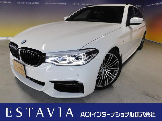 BMW 523dツーリングMスポーツハイラインP サンルーフ 黒革