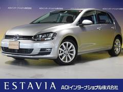 VW ゴルフTSIハイラインブルーモーションテクノロジー ナビ HID