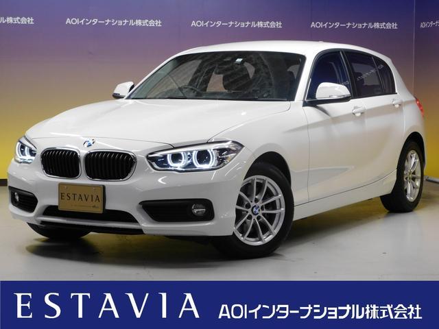 BMW 118i ナビ LEDヘッドライト 衝突軽減ブレーキ クルコン レーンキープ 16AW ETC USB BT CD DVD ISTOP