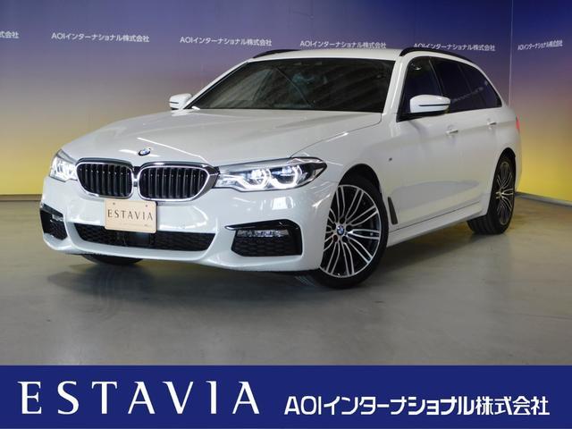 BMW 523iツーリング Mスポーツ 純正HDDナビ フルセグTV オートLED 追従クルーズコントロール ブルートゥースオーディオ DVD視聴 CD 革シート シートヒーター パワーシート 全方位カメラ 純正19インチアルミホイール