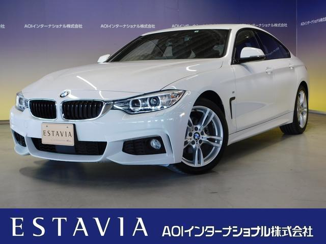 BMW 420iグランクーペ Mスポーツ 純正ナビフルセグTV 衝突軽減ブレーキ パワーバックドア パワーシート 追従クルコン ブラインドスポット ドラレコ 18インチアルミ HIDオートライト