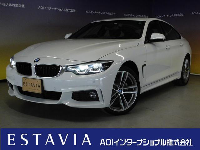 BMW 420i xDriveグランクーペ Mスポーツ 純正HDDナビ フルセグTV オートLED DVD視聴 ブルートゥース 追従クルーズコントロール パワーシート バックカメラ ETC 前後ソナー シートヒーター パドルシフト