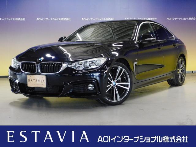 BMW 4シリーズ 420iグランクーペ Mスポーツ 純正HDDナビ 革シート シートヒーター ブルートゥースオーディオ DVD視聴 CD USB AUX 追従クルーズコントロール オートLED バックカメラ ETC ヘッドアップディスプレイ