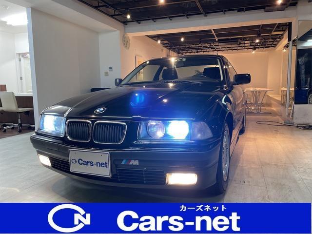 BMW 318is 希少な左ハンドルMT/サンルーフ/スタッドレス付き/禁煙車/ETC