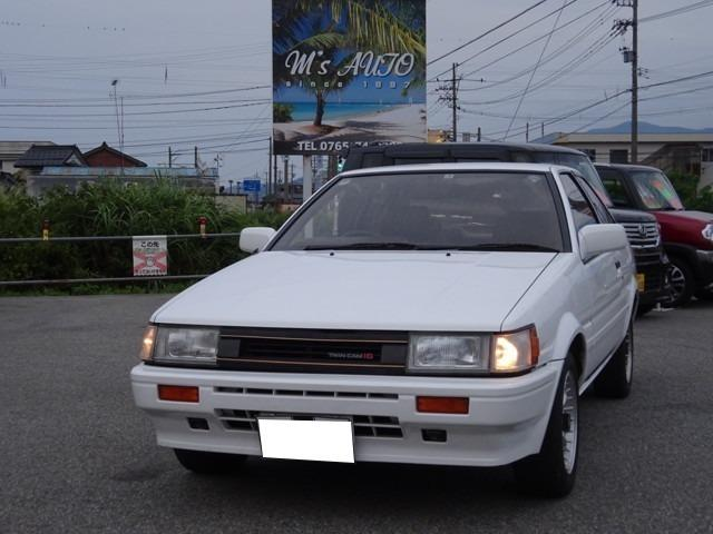 トヨタ GT APEX タコ足マフラ LSD TRD強化クラッチ