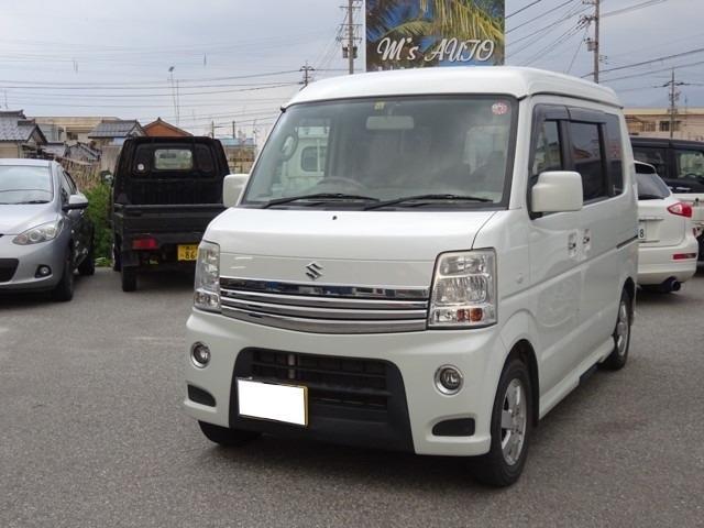 「スズキ」「エブリイワゴン」「コンパクトカー」「富山県」の中古車