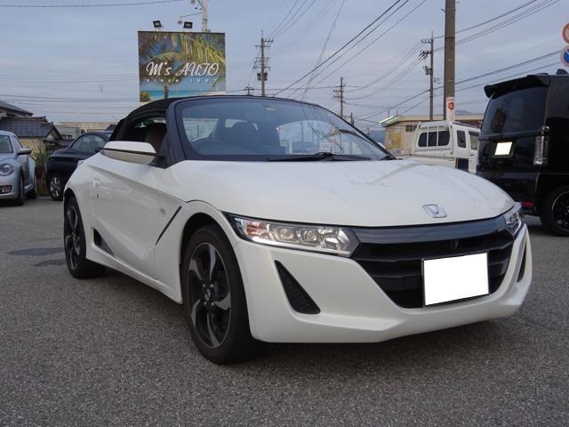 「ホンダ」「S660」「オープンカー」「富山県」の中古車