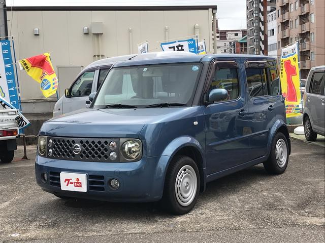 日産 ナビ Bカメラ ミニバン 5人乗り エアコン CD 保証付