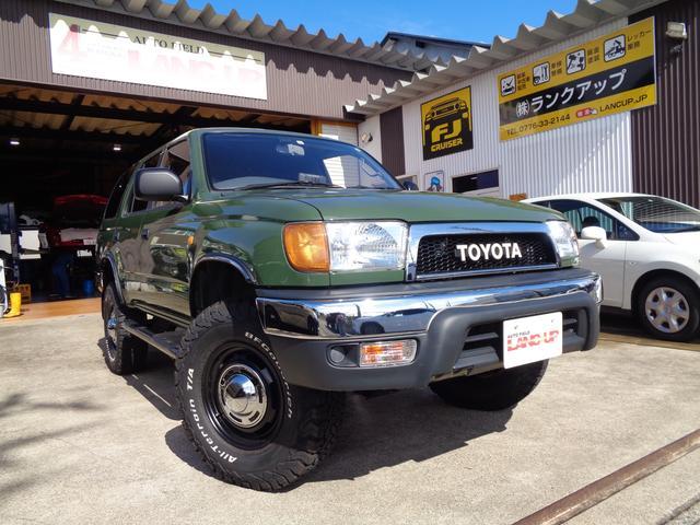 トヨタ ハイラックスサーフ SSR-X