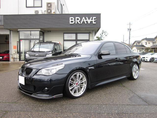 BMW 550iMスポーツ レイヤード4ch アキュレー afe