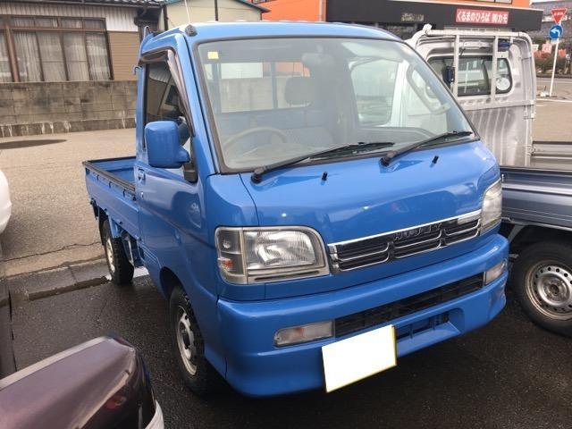 ダイハツ ハイゼットトラック 4WD マニュアル車 三方開 軽トラック 軽トラ 四駆