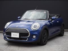 MINIクーパー コンバーチブル 黒革シート クルコン 認定中古車