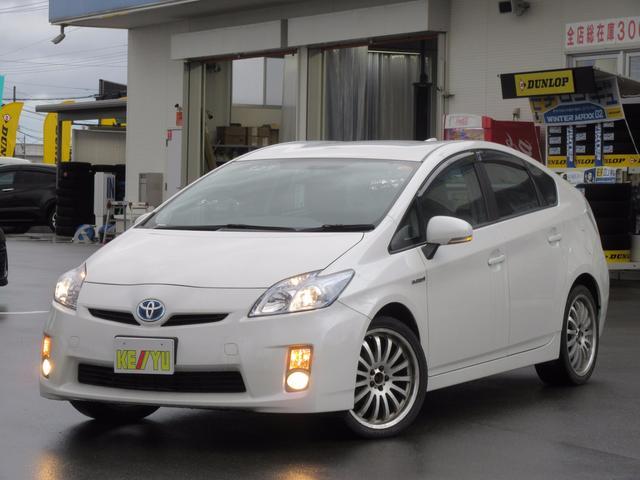 トヨタ S 禁煙車 HDDナビ 18AW室内LED シャークアンテナ