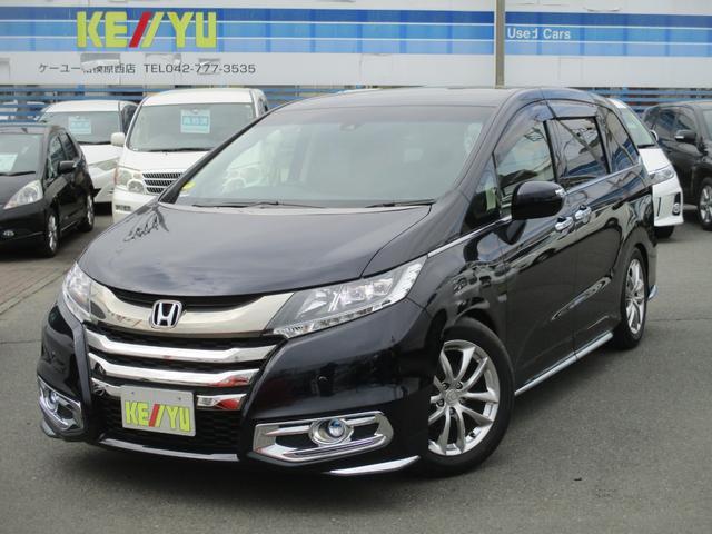 ホンダ アブソルート・EX SD8型ナビ後席モニタ- TEIN車高調
