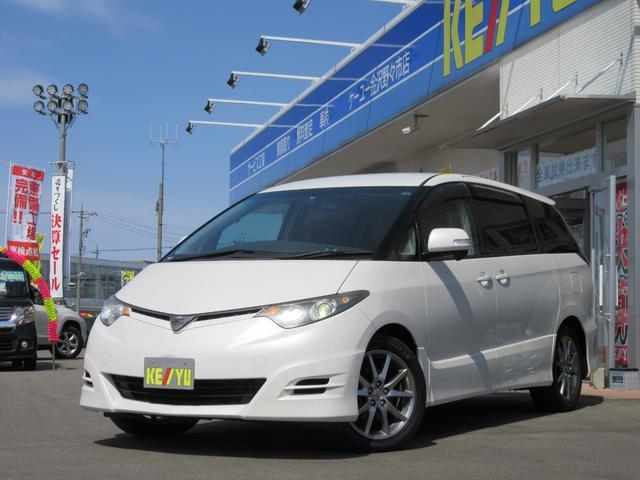 トヨタ アエラス S PKG 7人乗 HDDフルセグナビ 両側PSD