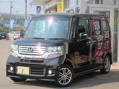 N BOXカスタムG・LPKG 禁煙車 SDフルセグBT連動ナビ