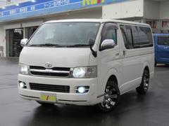 レジアスエースバンロングS−GL4WD軽油 HDDフルセグナビ革調シートカバー