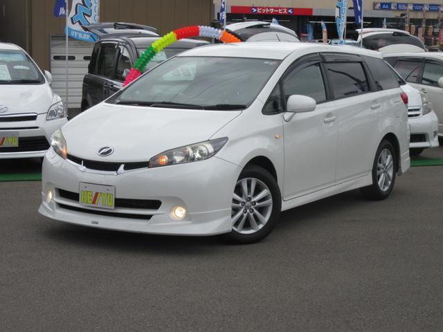 トヨタ 1.8Sモデリスタエアロ HDDフルセグBT連ナビ ウーハー