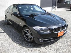 BMW528iハイライン 黒革シートHDDナビTVBカメラETC