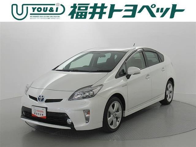 トヨタ プリウス Sツーリングセレクション スマートキ- HDDナビ ETC