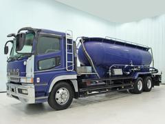 スーパーグレート粉粒体運搬車 14t 370ps 極東 バラセメント