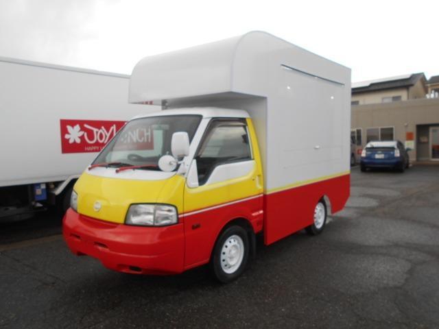 日産  キッチンカー加工車 100Vコンセント サブバッテリー インバータ シンク 外部電源