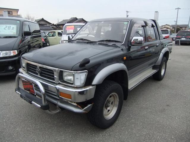 トヨタ ダブルキャブ SSR-X ワイド