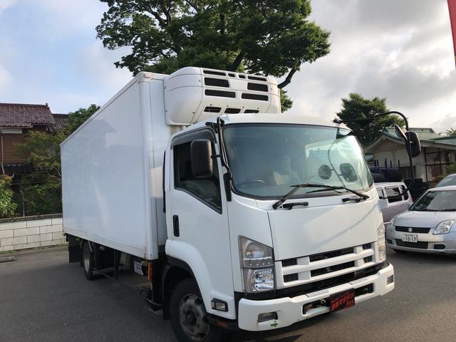 いすゞ 冷蔵冷凍車-30度 最大積載量3100kg エアサス