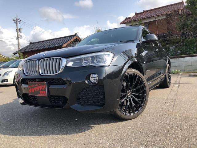 BMW X4 xDrive 35i Mスポーツ茶レザー純ナビ地デジ20AW